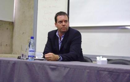 El diputado Felipe Harboe