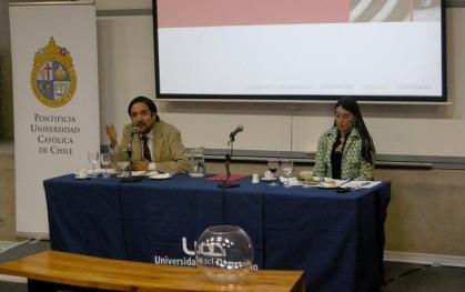 Mario Ubilla y Alejandra Amenabar
