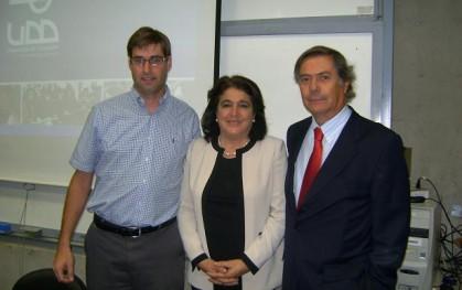 Daniel Contesse, Verónica Abud y Lionel Sotomayor