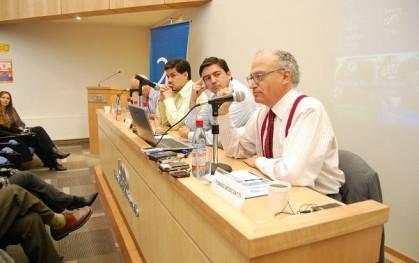 Chistian Leal, Mauricio Gándara y Tomás Mosciatti