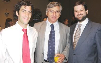 Cristóbal Piñera, Francisco Celedón y Felipe Torres