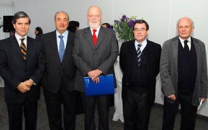 Rafael Rodriguez, Oscar Guillermo Garretón, Ernesto Silva, Víctor Lobos y José Miguel Ossandon