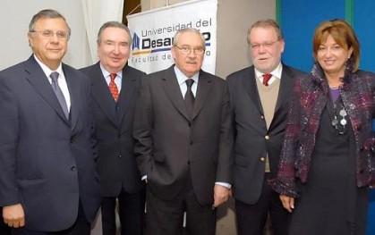 Héctor Humeres, Patricio Figueroa, Pablo Rodríguez, Carlos Goñi, Cecily Halpern