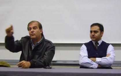 Francisco Vidal y Gustavo Manen