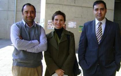 Eugenio Guzmán, Carolina Tohá y Gustavo Manen