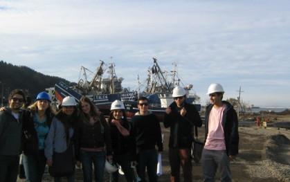 Estudiantes visitan Talcahuano