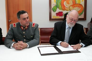 General Jorge Fuenzalida y Ernesto Silva Bafalluy
