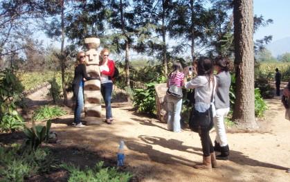 En los jardines de Undurraga