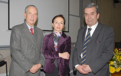 Carlos Pecchi, Gloria Ana Chevesich y Hugo Rosende