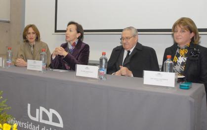 Trinidad Siles, Gloria Ana Chevesich, Pablo Rodriguez y Cecily Halpern