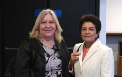 Rosemarie Fritsch y Graciela Rojas