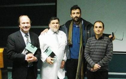 Pablo Vial, Ernesto Behnke, Cristián Warnken y Julio Núñez