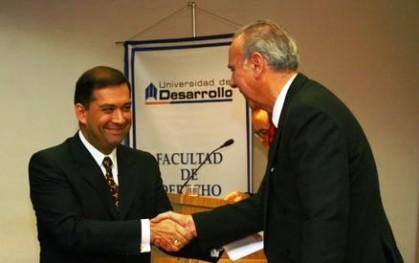 Eduardo Andrades y Gabriel Rioseco