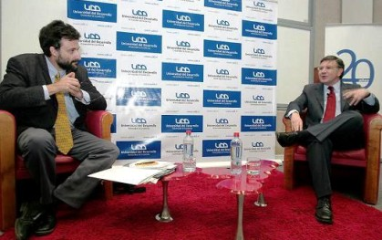 Cristián Warnken entrevista a Lavín