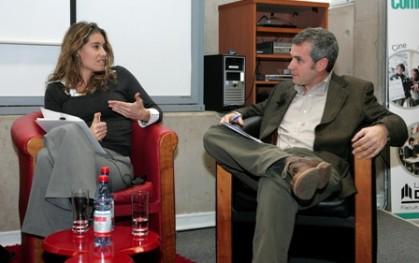Coca Ventura junto a Javier Peralta