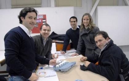 Cristóbal Bugnamm, Gonzalo Bozzo, Sebastián de la Ville, Andrea Rudloff y Cristóbal Bordeu