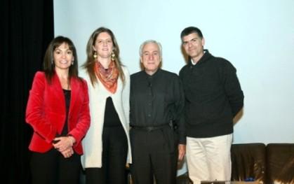 Carolina Mardones, Carolina Altschwager, Tim Hurson y Sergio Gamboa