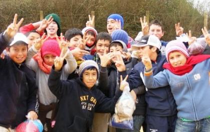 Niños de Cocholgue