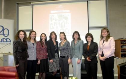 Las participantes del seminario
