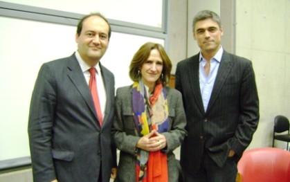 Patricio Zapata, Trinidad Siles y Pablo Simonetti