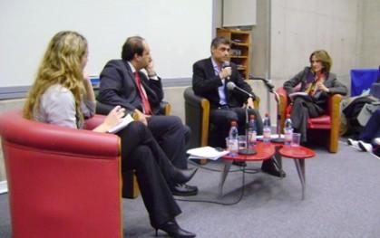 Marcela Schnake, Patricio Zapata, Pablo Simonetti y Trinidad Siles