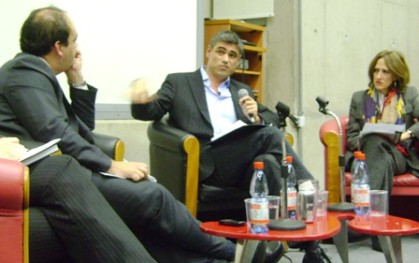 Patricio Zapata, Pablo Simonetti y Trinidad Siles
