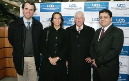 Rodrigo Castro, Soledad Arellano, Patricio Meller y David Bravo