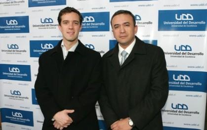 Ignacio Morandé y Ángel Soto