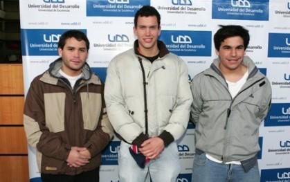 Pío Barbagerath, Juan José Arias y David Grossman