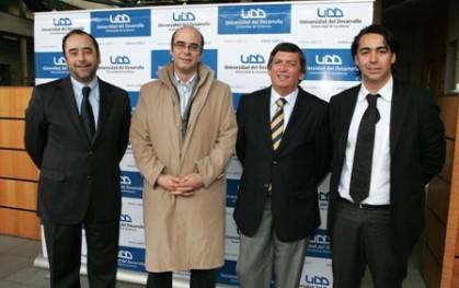 Eugenio Guzmán, Fernando Atria, Lautaro Carmona y Marco Enriquez - Ominami