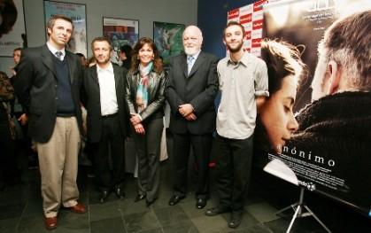 Rodrigo Fernández, Marcelo Ferrari, Carolina Mardones, Ernesto Silva y Renato Pérez