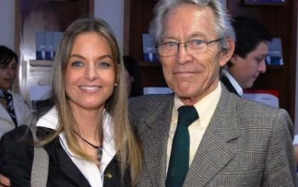 Carolina Ramos y Rolf Kummerlin