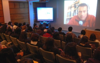 Conferencia vía Skype
