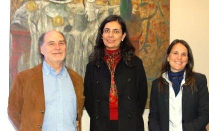 Luis Eduardo Lamas, Florencia Jofré y Paulina Artigas