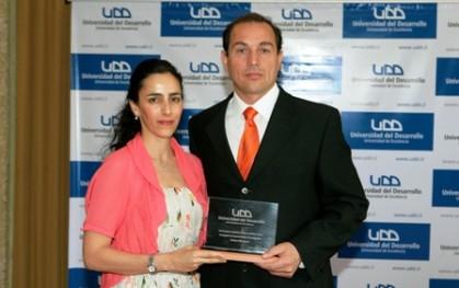 Carolina Comandary y Víctor Borquez