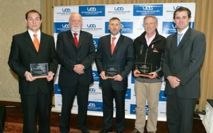 Víctor Bórquez, Ernesto Silva, Enrique Cueto, Felipe Cubillos y Rodrigo Castro
