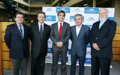 Víctor Lobos, Santiago Schuster, Luciano Cruz - Coke, Arturo Duclós y Ernesto Silva
