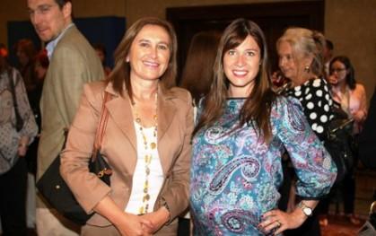 Marisol Paiva y María de la Luz Kojakovic