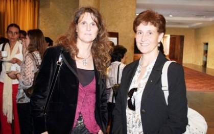 Viviana Orio y Françoise Orio