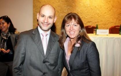 José Ernesto Amorós y María Paz Lagos, Subsecretaria del SERNAM