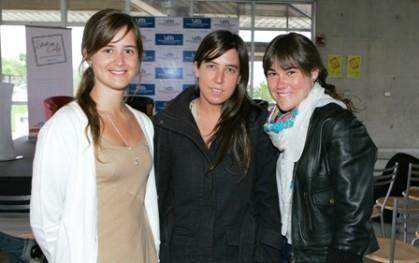 Antonia Valenzuela, Pilar Valenzuela y Valentina de Cárcer
