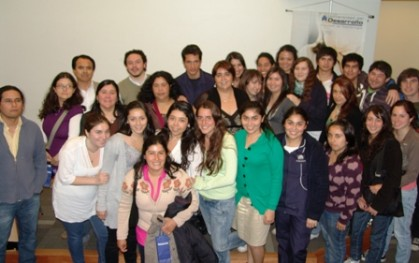 Expositores y Estudiantes de Enfermería