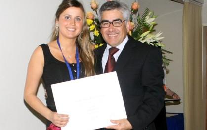 Josefa Mayol junto a Luis Vicentela