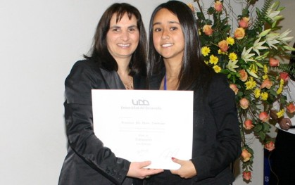 María José Orozco y Victoria Halabí, Directora de Carrera