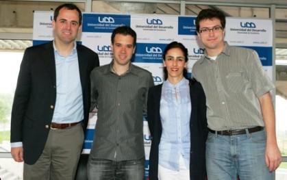 Rodrigo Castro, Amit Aharoni, Carolina Comandary, Nicolás Meunier