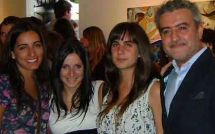 Josefina Melo,Anita Didier, Josefa Behnke y Arturo Duclós