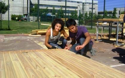 Catalina Valenzuela y Benjamín Musso