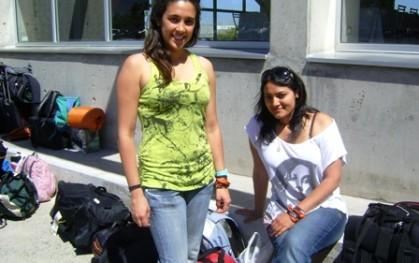 Bárbara Orderix y Patricia Ibarra