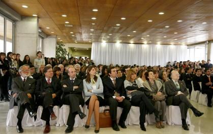 Asistentes a la ceremonia