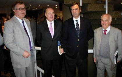 Carlos Vial, Juan Miguel Ovalle, Rodrigo Sarquis y César Vargas